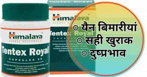 Tentex Royal Benefits in Hindi-उपयोग/खुराक/दुस्प्रवाह/समग्रियाँ
