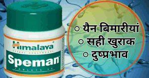 Himalaya Speman tablet Hindi-उपयोग/ खुराक/ दुष्प्रभाव/ सामग्री/ कीमत