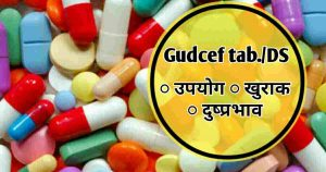 Gudcef tablet/DS- उपयोग, खुराक, Price, Brand name