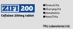 Zifi 200 Dosage,उपयोग,दुस्प्रभाव,सावधानियाँ,Substitute