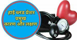 उच्च रक्तचाप 10 लक्षण और कारण-Causes High Blood Pressure Hindi