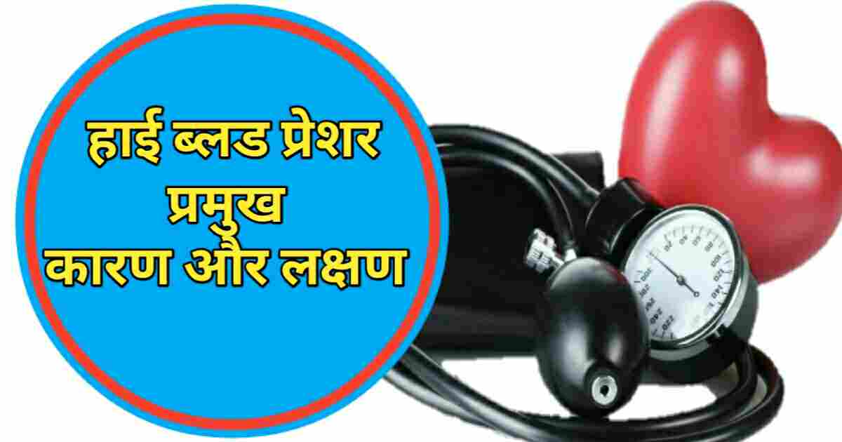 Causes High Blood Pressure Hindi