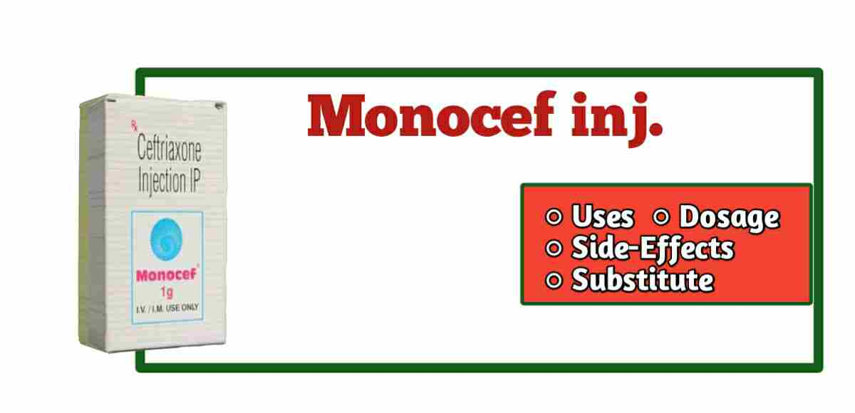 Monocef injection