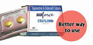 manforce staylong tablet