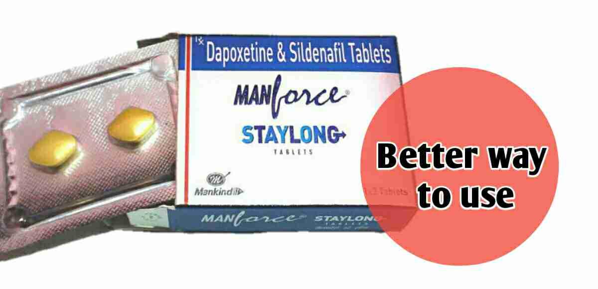 manforce staylong tablet