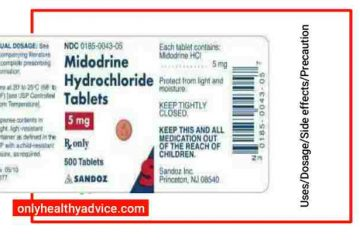 Midodrine Hydrochloride in HindiMidodrine Hydrochloride in Hindi